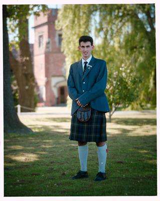 Negative: St Andrews College Mr Sharp Prefect 1990