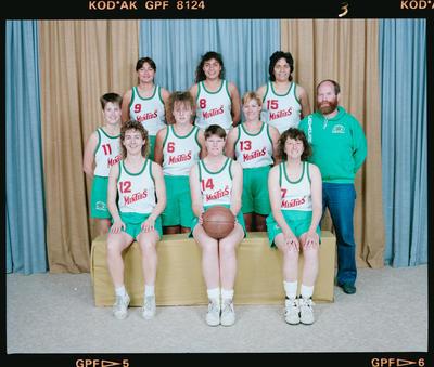 Negative: Minties Basketball Team