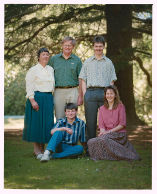 Negative: Baird Family Portrait