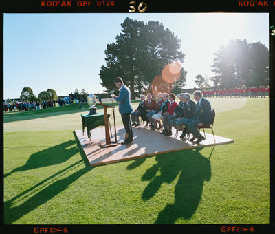 Negative: Presentation World Amateur Golf Championships 1990