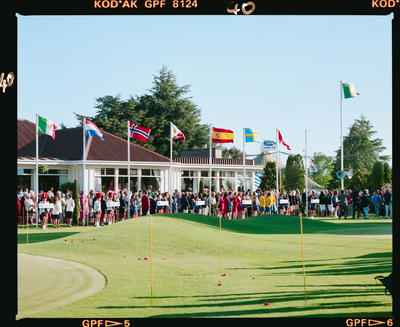 Negative: World Amateur Golf Championships 1990