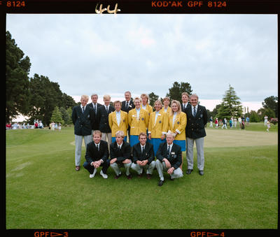 Negative: Group At World Amateur Golf Championships 1990