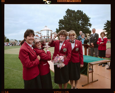 Negative: Four Women World Amateur Golf Championships 1990