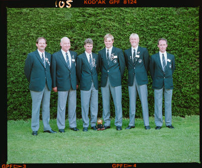 Negative: Six Men World Amateur Golf Championships 1990