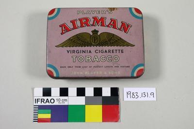 Tin, tobacco