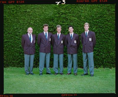Negative: Five Men World Amateur Golf Championships 1990