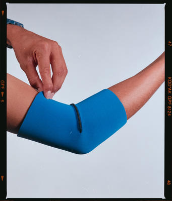 Negative: Canterbury Wetsuits Elbow Support