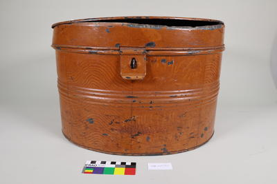 Hat Box: Tin