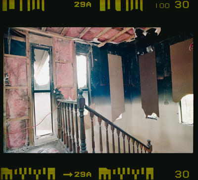 Negative: Burnt House Interior O'Loughlin Taylor And Spence