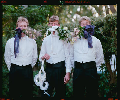 Negative: Falloon-Anderson Wedding