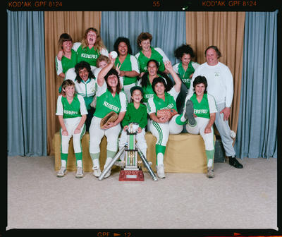 Negative: Kereru Women's C Softball Team 1991