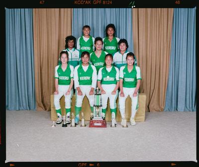 Negative: Kereru Girls U16 Softball Team 1991