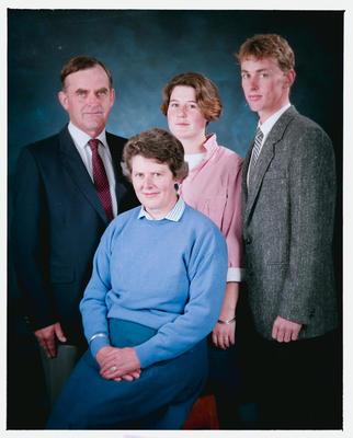Negative: Anderson Family Portrait