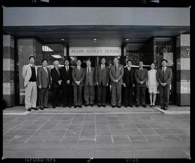 Negative: Mair Astley And Chinese Representatives