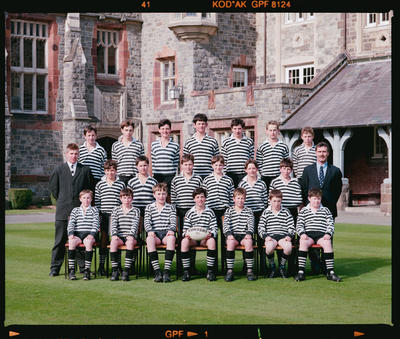 Negative: Christ's College Under 13 Rugby 1991