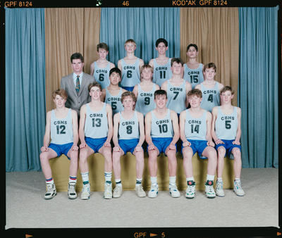 Negative: CBHS U16 Basketball 1991