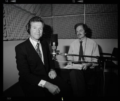 Negative: Two Men In Radio Booth