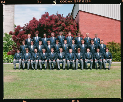 Negative: Lincoln University Japan 1992 Rugby Team