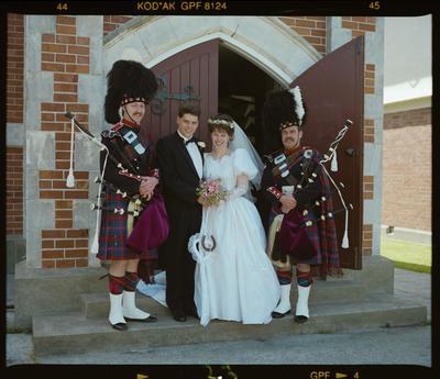 Negative: Clarke-Coulter Wedding