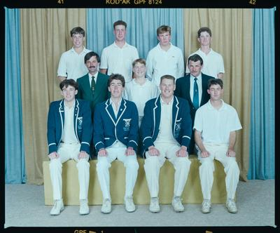 Negative: St Andrews 1st XI Cricket 1991