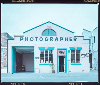 Negative: Standish And Preece Shopfront