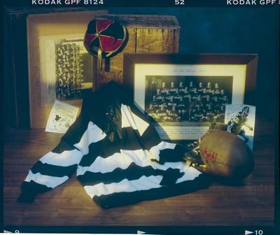 Negative: Rugby Memorabilia