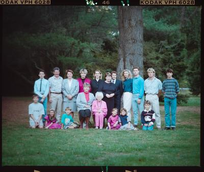 Negative: Hall Family Portrait