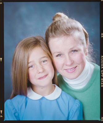 Negative: Mrs Murphy And Girl