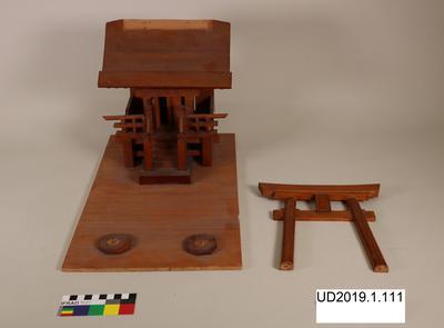 Model of shrine