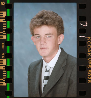 Negative: Christ's College First Year Student 1988