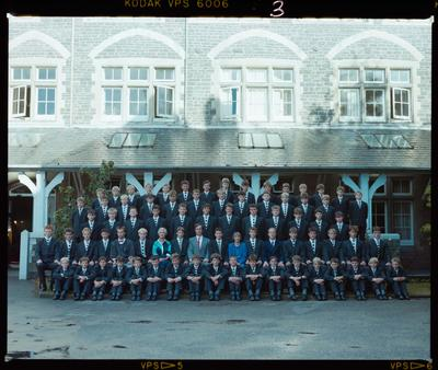 Negative: Christ's College School House 1988