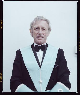Negative: David Ford Freemason Portrait