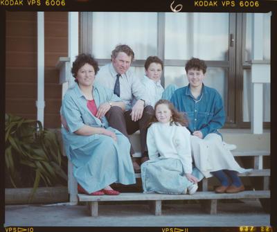 Negative: Rowley Family Portrait