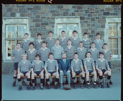 Negative: Christ's College Rugby Team 1988