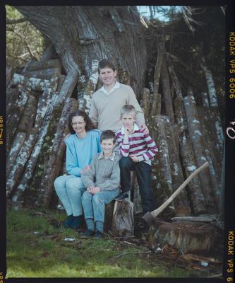 Negative: Godsiff Family Portrait