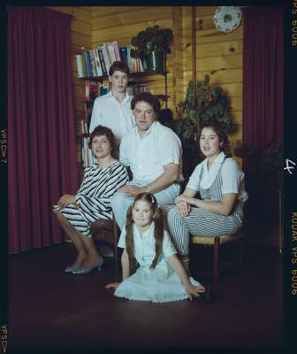 Negative: Day Family Portrait