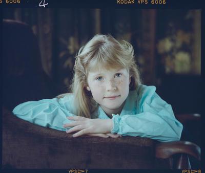 Negative: Miss Opie Portrait