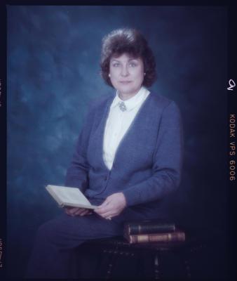 Negative: Mrs Mayes Portrait