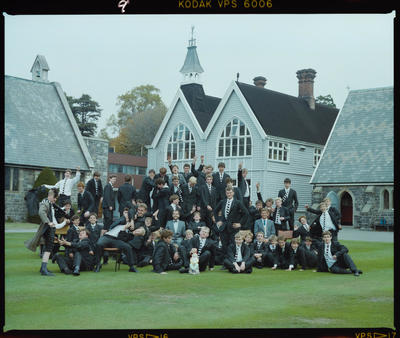 Negative: Christ's College Condell's House 1988
