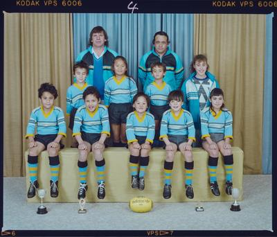 Negative: Shirley Rugby Club Under 8s 1988