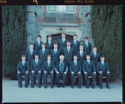 Negative: Christ's College Prefects 1988