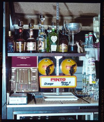 Negative: Pinto Juice Dispenser At Bar