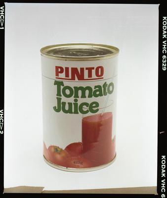 Negative: Pinto Tomato Juice