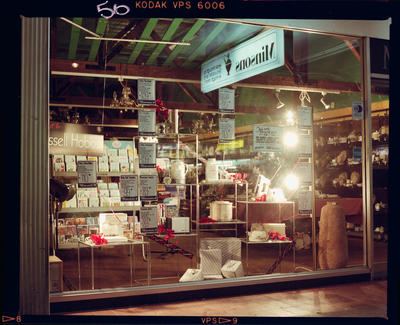 Negative: Minsons Shop Window