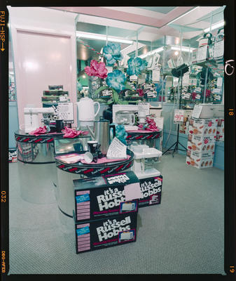 Negative: Russell Hobbs Display In Minsons