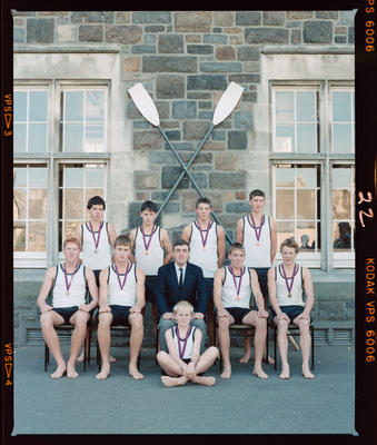 Negative: Christ's College Rowing Team 1988