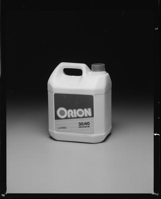 Negative: Shell Products Orion 30/40 Motor Oil