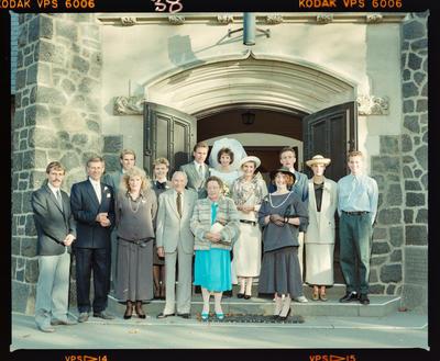 Negative: Pyne-Batt Wedding