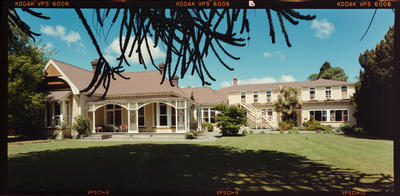Negative: CBHS Adams House Exterior