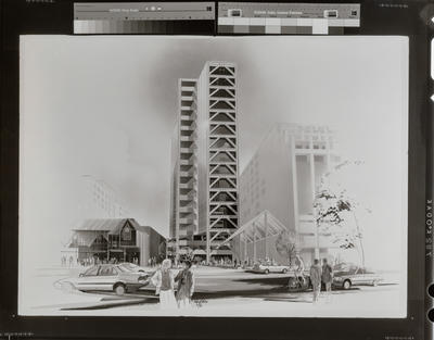 Negative: Architectural Drawing High Rise